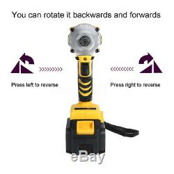 12 Pcs 19800mAh 1/2 Electric Brushless Impact Wrench Cordless Drive Drill