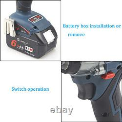 18V Cordless Brushless Impact Wrench For Makita DTW285Z+ 6.0Ah Battery + Charger