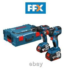 Bosch 06019J2270 18v BL Combi Drill Impact Wrench Twin Pack Kit