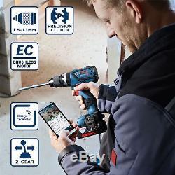 Bosch 18v Brushless GSB18V-60C Combi Hammer Drill GDX18V-EC Impact Driver Wrench