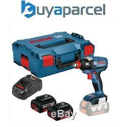 Bosch 18v GDX 18V-EC Lithium Brushless Impact Wrench Impact Driver 2 x 5.0ah