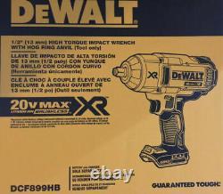 DEWALT 20V Max XR High Torque 1/2 inch Impact Wrench DCF899HB Hogs Ring Anvil