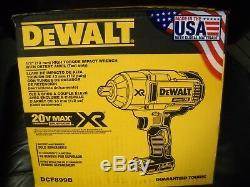 DEWALT DCF899B 20V MAX XR Brushless High Torque 1/2 Impact Wrench Bare Tool NEW