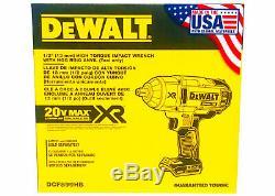 DEWALT DCF899HB 20V MAX XR Impact Wrench Brushless High Torque Hog Ring Anvil