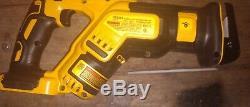 Dcf899 DeWalt 1/2 impact 3 speed, DCS367 reciprocating saw, DCG412 grinder