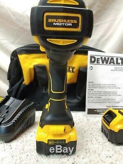 DeWALTDCF899HP220VOLT MAX 1/2High Torque Impact Wrench Kit2-5.0Ah Batts. New
