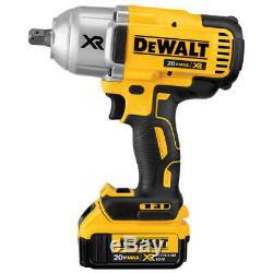 DeWALT DCF899M1 20-Volt MAX XR 4.0Ah Impact Wrench with Dentent Pin Anvil