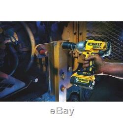 DeWALT DCF899P1 20-Volt MAX 1/2-Inch 3-Speed Brushless Impact Wrench Kit