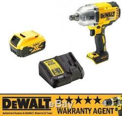 DeWALT DCF899P1 DCF899N 18v XR Cordless Impact Wrench 1 x 5Ah Batt NEW
