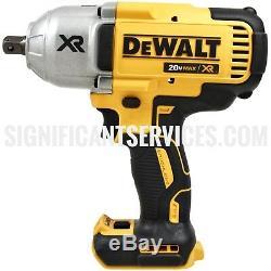 DeWALT DCF899 20V XR Brushless 1/2 Detent Impact Wrench 5.0 Ah DCB205 Batteries