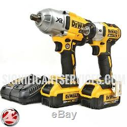 DeWALT DCK398HM2 20V Max Brushless High Torque Impact Wrench DCF899 DCF890 Kit
