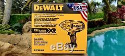 DeWalt 20V XR 1/2 Brushless Hog Ring Impact Wrench 2019 USA Made DCF899HB