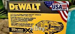 DeWalt 20V XR 1/2 Brushless Hog Ring Impact Wrench DCF899HB