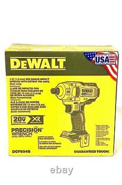 DeWalt DCF894B 20V MAX XR 1/2 in Mid Range Cordless Impact Wrench