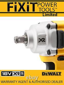 DeWalt DCF894HN T 18V XR Brushless 1/2 Compact High Torque Wrench & Tstak bo