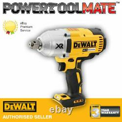 DeWalt DCF897N 18V XR Brushless 3/4in High Torque Impact Wrench