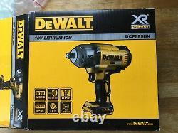 DeWalt DCF899HN 18v XR Brushless 1/2in Hog Ring Impact Wrench Bare Unit