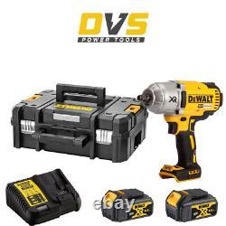DeWalt DCF899M2 Cordless 18V XR 1/2 Brushless Impact Wrench & TSTAK Case Set