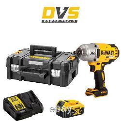 DeWalt DCF899P1 Cordless 18V XR 1/2 Brushless Impact Wrench & TSTAK Case Set