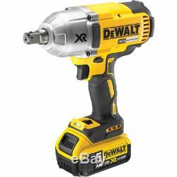 Dewalt 1/2in Drive High Torque Brushless Impact Wrench 18 Volt 2 x 5.0Ah Li-Ion
