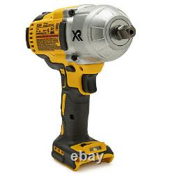 Dewalt 20V MAX XR Brushless 1/2 In Impact Wrench with Detent Pin Anvil Tool Only