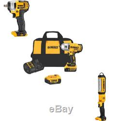 Dewalt 20V Max Impact Wrench (DCF899HB & DCF883B) & DCL050 Combo KIT DCK398HM2