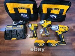 Dewalt 20V XR MAX 3/8in, 1/2in Mid, 1/2in High Cordless Compact Impact Wrench