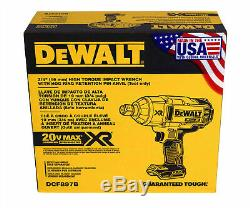 Dewalt DCF897B 20V MAX XR Baretool High Torque 3/4 Impact Wrench