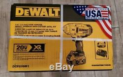 Dewalt DCF899M1 1/2 High Torque Impact Wrench NEW and Sealed