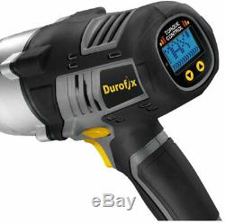 Durofix 20V 1/2 inch Brushless Impact Wrench 3 years warranty inc batteries