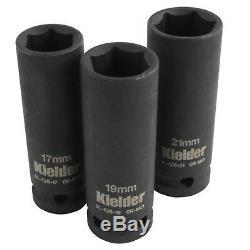 Kielder 18V Brushless Impact Wrench Kit, 2 x 4.0AH Li-ion Battery, KWT-002-08