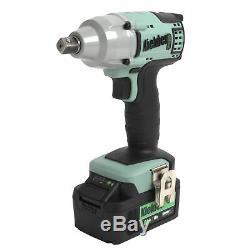 Kielder 18v 1/2 Inch 430Nm Cordless Brushless Impact Wrench 1 x 4.0Ah Li-Ion