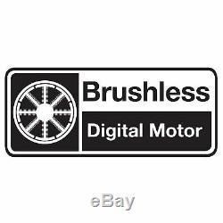 Kielder 18v 3/8 Inch Brushless Impact Wrench 2 x 2.0Ah Li-Ion KWT-002-17