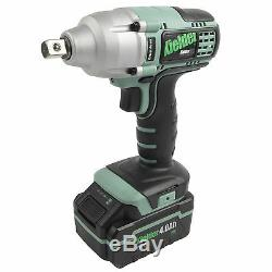 Kielder 1/2 Drive 18 Volt Brushless Impact Wrench 1 x 4.0Ah Li-ion KWT-002-03