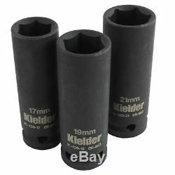 Kielder 1/2in Drive 18 Volt Brushless Impact Wrench 2 x 4.0Ah 430Nm KWT-002-08
