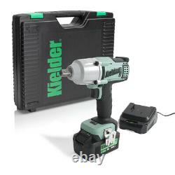 Kielder KWT-012-05 18V 1/2 700Nm Impact Wrench, Battery, Charger and Case