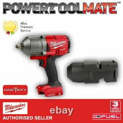 M18ONEFHIWF12-0 M18 One Key FUEL High-Torque 1/2 Impact Wrench with Sleeve