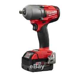 M18 FUEL 18-Volt Lithium-Ion Brushless Cordless Mid Torque 1/2 in. Impact Wrench