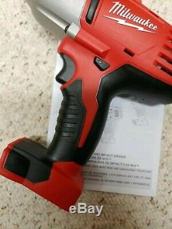 MILWAUKEE2663-20M18 Volt 1/2 High-Torque Impact withFriction RingTool OnlyNew