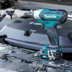 Makita 10.8v CXT Li-ion HP331D Combi Drill TW060DZ Impact Wrench CL106FD Vacuum
