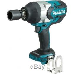 Makita DTW1001Z 18v 3/4 Impact Wrench Cordless LXT Brushless Body Only