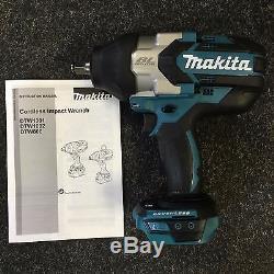 Makita DTW1002Z 18v Li-Ion Brushless LXT 1/2 Impact Wrench Nut Runner Body Only