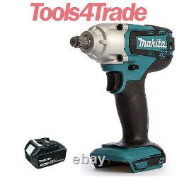 Makita DTW190Z 18V LXT Li-ion 1/2 Impact Wrench with 1 x 3.0Ah BL1830 Battery