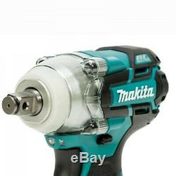 Makita DTW285Z 18v LXT Brushless Impact Wrench 1/2 Drive Bare + Makpac Case