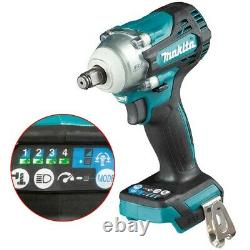 Makita DTW300Z 18v LXT Brushless Impact Wrench 1/2 Drive 4 Speed + 21mm Socket