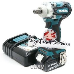 Makita XWT15Z 18V LXT Brushless Cordless 4 Speed 1/2 5.0 Ah Impact Wrench Kit