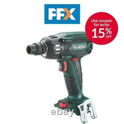 Metabo SSW18 LTX 400 BL High Torque Impact Wrench Body Only