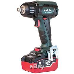 Metabo US602205550 18-Volt 5.5Ah LiHD Cordless Brushless Impact Wrench Kit