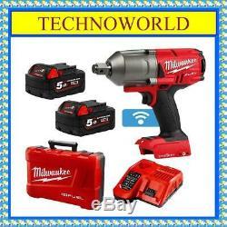 Milwaukee 18v One-key 3/4 Brushless Impact Wrench Combo Kit M18onefhiwf34-502c