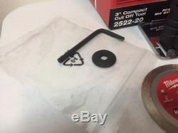 Milwaukee 2522-20 Cut Off Circular Saw Tool 12-V 3 in. Li-Ion Brushless Cordless